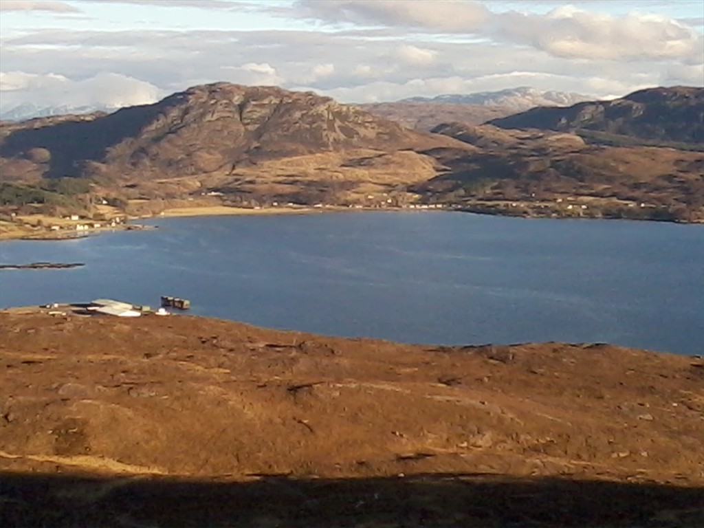 high above loch kishorn