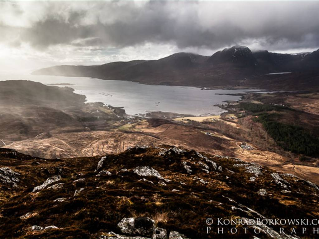 Loch Kishorn from An Scurr